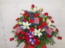 Pat's Patriotic Arrangement