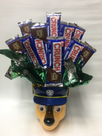 Paw patrol candy bouquet
