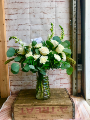 Peace and healing bouquet Vase bouquet in Wilkes Barre, PA | Kelly Ann's Floral
