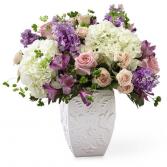 Peace and Hope Lavender Bouquet Sympathy