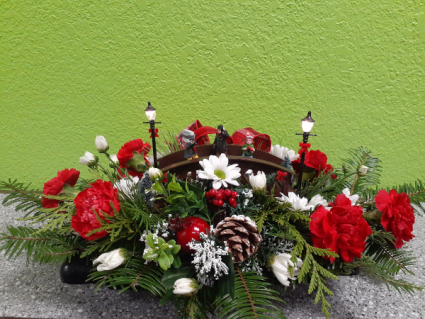 Joy to the world Table Centerpiece