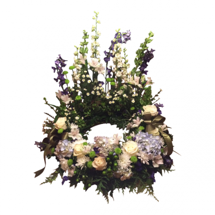 Peace and Serenity Wreath to Surround an Urn