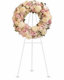 Peace Eternal Wreath Standing Spray
