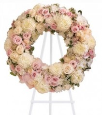 Peace Eternal Wreath T236-1A