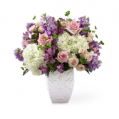 Peace & Hope Bouquet Sympathy For The Home