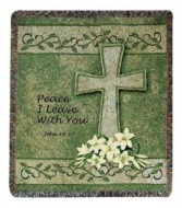 Peace I Leave With You - MWT-42 Sympathy Throw
