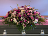 Peace In the Valley Casket Flowers