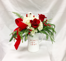 Peace, Joy, Love Fresh Floral Design