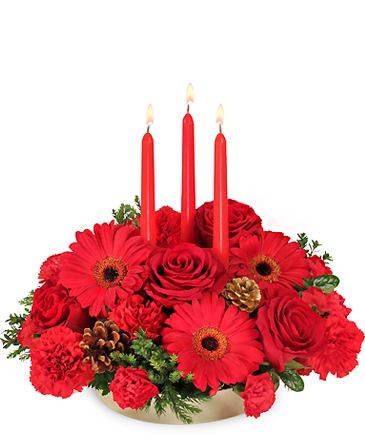 Peace ~ Joy ~ Noel Holiday Centerpiece