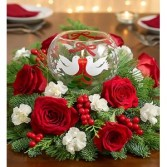 PEACE ON EARTH HOLIDAY CENTERPIECE