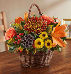 Peace, Prayers and Blessings™ for Fall Arrangement in Croton On Hudson, NY | Cooke's Little Shoppe Of Flowers