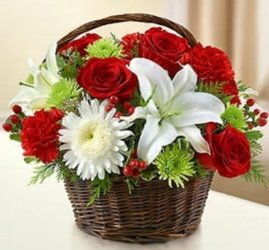 Peace, Prayers & Blessing™ - Holiday Arrangement in Croton On Hudson, NY | Cooke's Little Shoppe Of Flowers