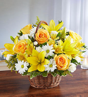 Peace, Prayers & Blessings™ Yellow & White  in Valley City, OH | HILL HAVEN FLORIST & GREENHOUSE
