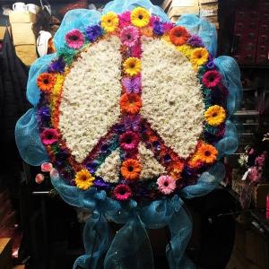Peace Sign  Heavenly Florist Orginal in Ozone Park, NY   Heavenly Florist