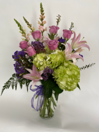 Peaceful Arrangement   floral arrangement