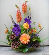 Peaceful Blooms  Flower Arrangement