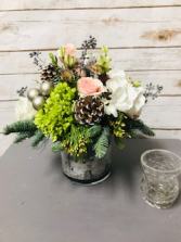 Peaceful Winter Arrangement