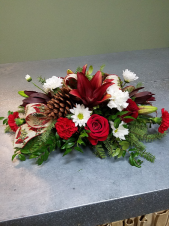 Peaceful Christmas Centerpiece Centerpiece