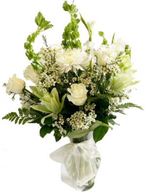 PEACEFUL COMFORT Flowers For The Home or Funeral Service in Buda, TX | Budaful Flowers