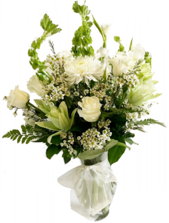 PEACEFUL COMFORT Flowers For The Home or Funeral Service