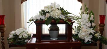 Peaceful Elegance Cremation Arc Set