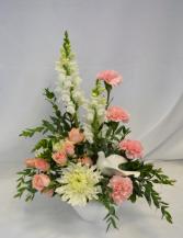 PEACEFUL FLIGHT Flower Arrangement
