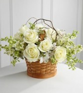 Peaceful Garden™ Basket Basket Mix Flowers