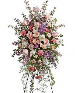 Funeral Flowers Peaceful Garden