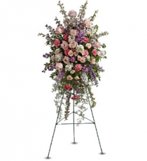 Peaceful Garden Spray floral arrangement