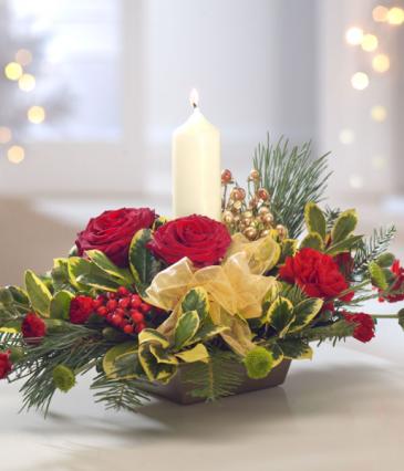Peaceful glow Christmas
