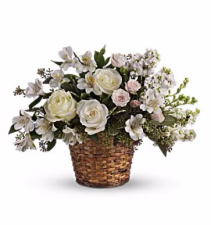 Peaceful Journey Basket Arrangement