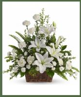 Peaceful Lilies Basket