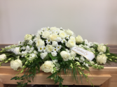 Peaceful memorial Casket spray
