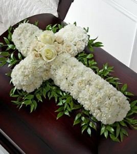 Peaceful Memories Casket Spray in New Port Richey, FL | FLOWERS TODAY FLORIST