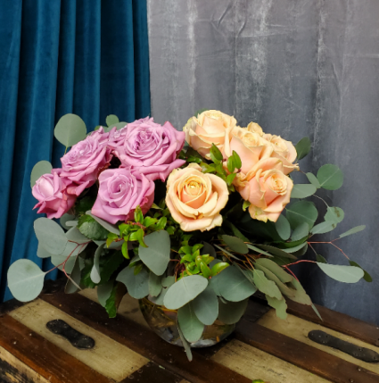 Peaceful n Peach Roses