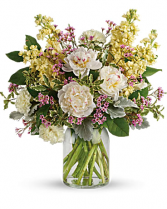 PEACEFUL PEONY Vase Arrangement