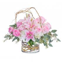 Peaceful Pink Arrangement