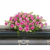 Peaceful Pink Casket Spray Spray