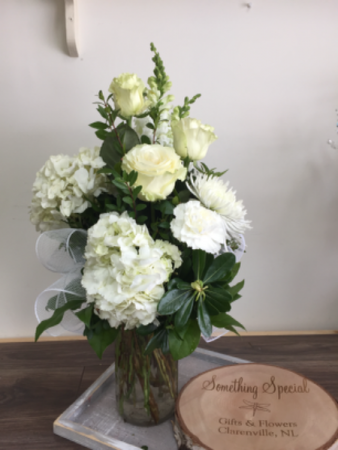 Peaceful  serenity Vase arrangement