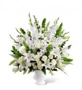 Peaceful Tribute Floral Arrangement