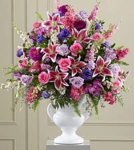 Peaceful Tribute Funeral Flowers