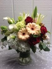 Floral Serenity Vase Arrangement