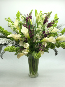 Peacefull Wishes Sympathy Flowers