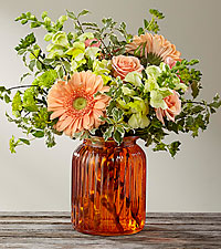 Peach Bliss  Fall Arrangement