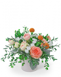 Peach Blossom Flower Arrangement