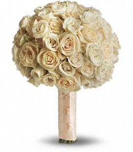 Peach Bridesmaid bouquet
