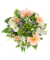 Peach Delight Wedding Bridal Bouquet