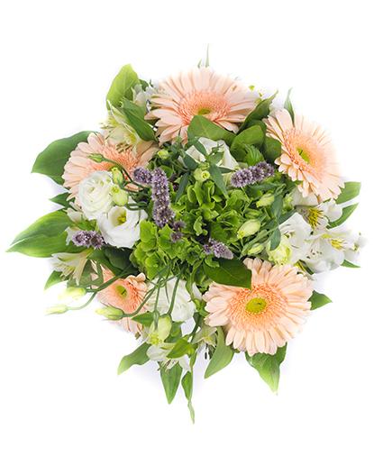 Peach Delight Wedding Bridal Bouquet