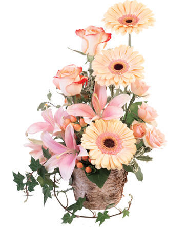 Peach Dreamer Floral Arrangement