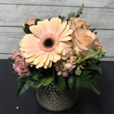 Peach Hearts Arrangement